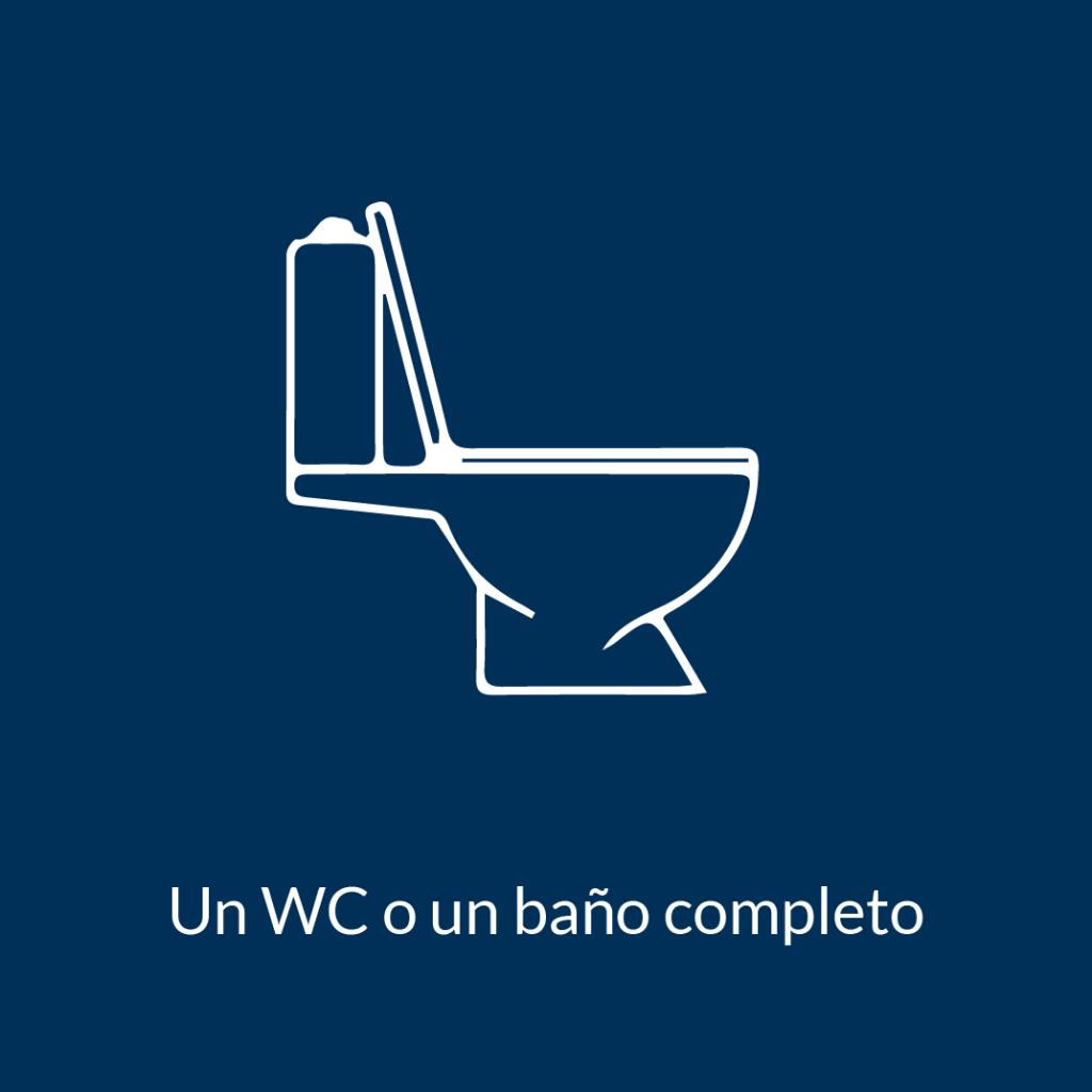 WC o baño completo